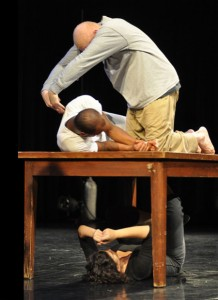 "2012 residency of ""Blood, Muscle, Bone"" in Tallahassee. Photo by Aubrie Rodriguez."